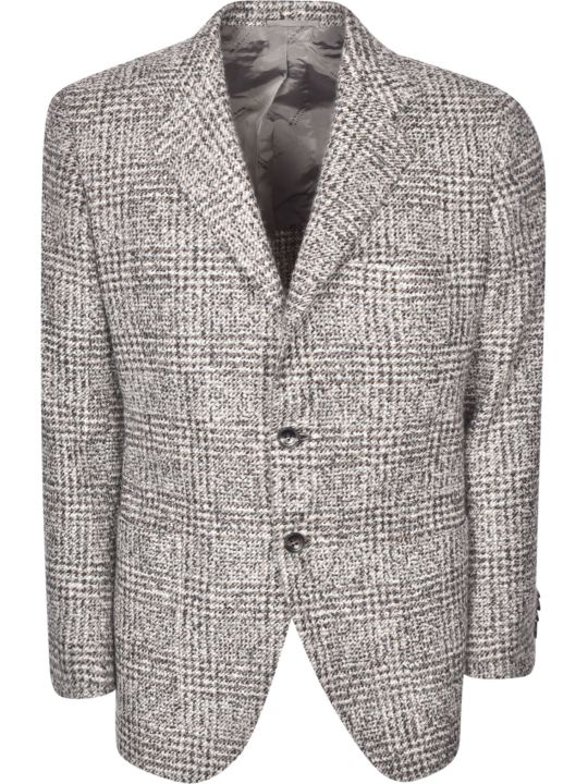 Kiton Patterned Blazer