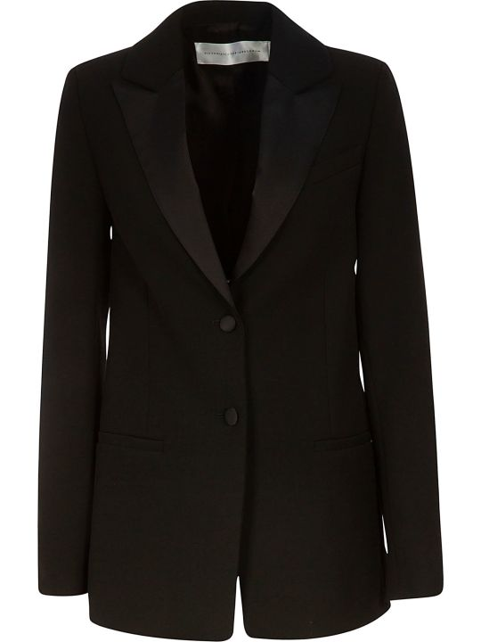 Victoria Victoria Beckham Single Breasted Two Button Blazer