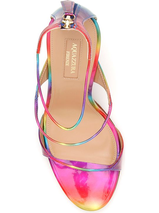 Aquazzura Disco Rainbow Minute 105 Sandals