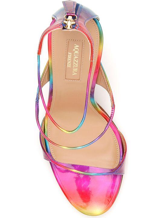 Aquazzura Disco Rainbow Minute 105 Sandals