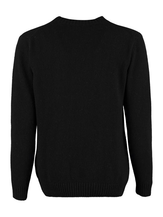 Maison Labiche Crew-neck Cashmere And Wool Sweater