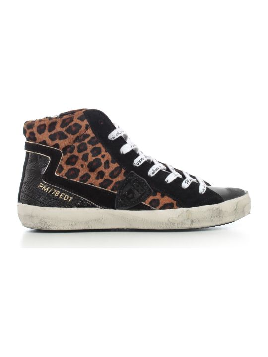 Philippe Model Sneakers High Animalier