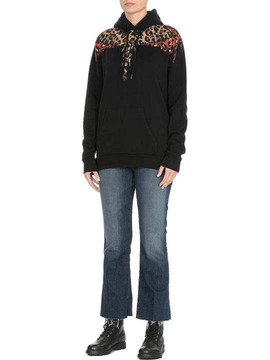 Marcelo Burlon Leopard Wings Sweatshirt