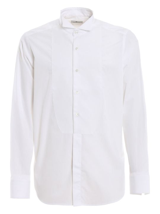 Tagliatore Diplomat Neck Evening Shirt