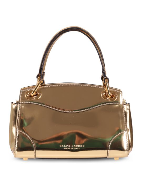 Ralph Lauren Gold Bag