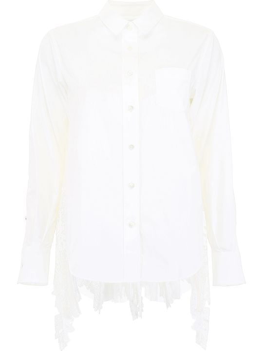 Sacai Shirt With Lace
