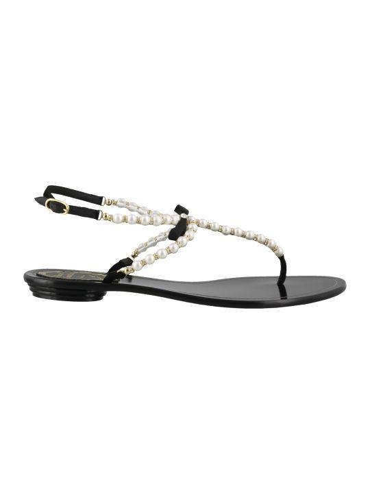 René Caovilla Thong Sandals