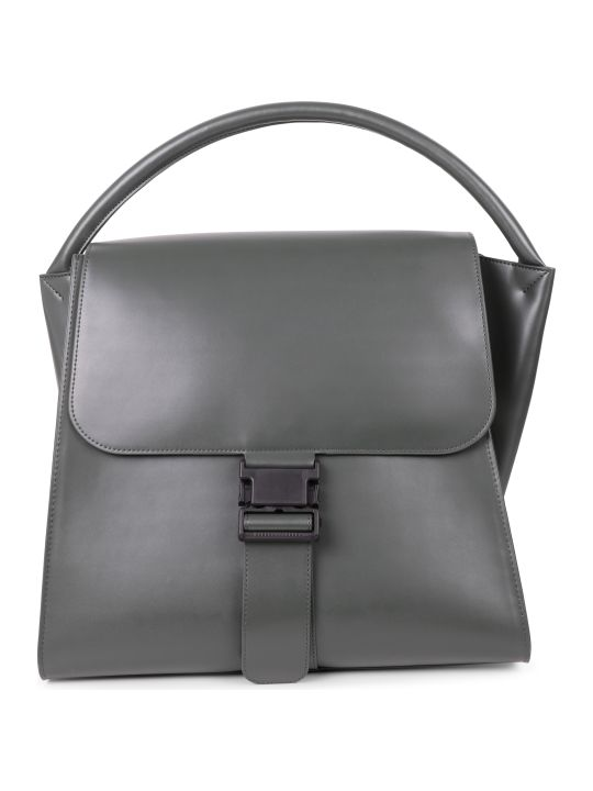 Zucca Green Buckled Bag L
