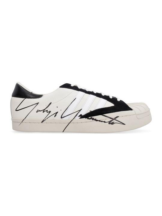 Y-3 Yohji Star Leather Sneakers