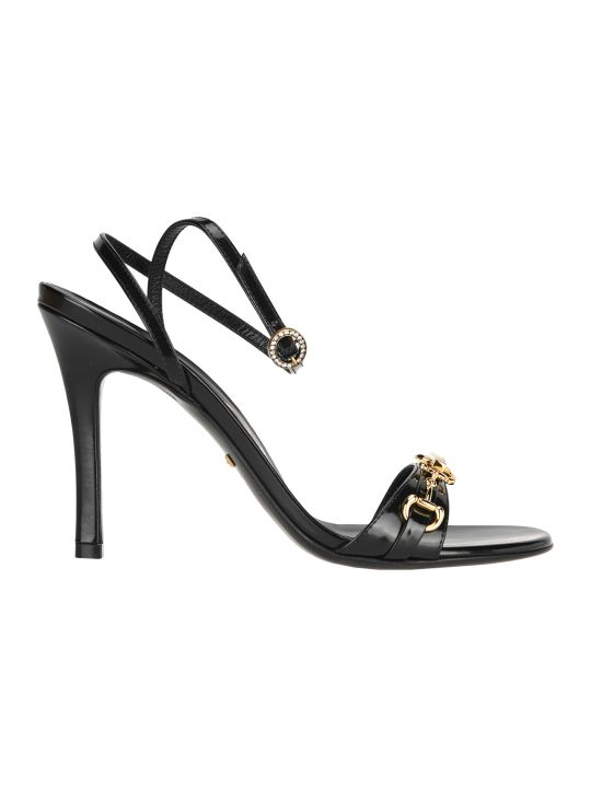 Gucci Horsebit Chain Sandals