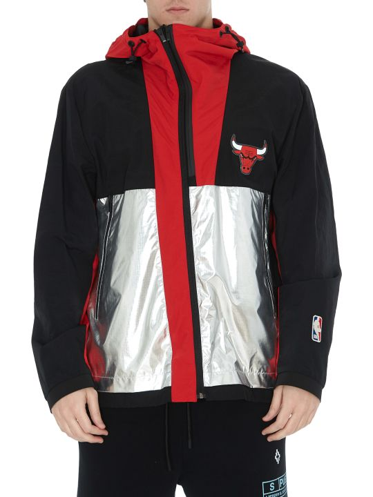 Marcelo Burlon Chicago Bulls Windbreaker Jacket
