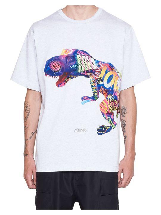 Juun.J 'richard Orlinski T-rex' T-shirt