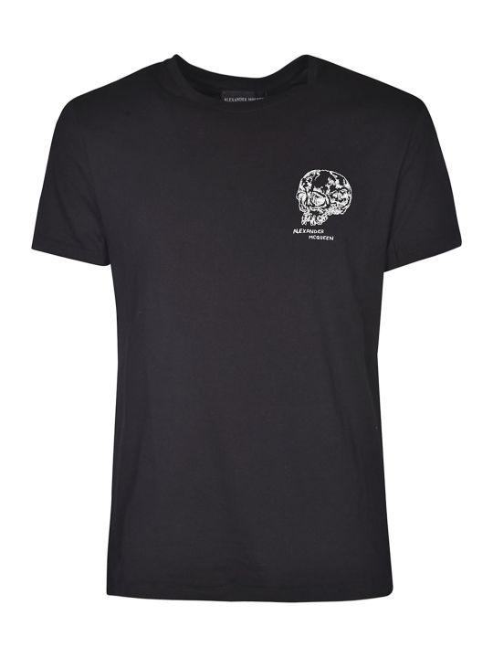 Alexander McQueen Skull Crest T-shirt