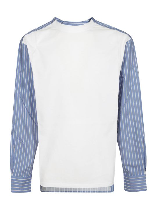 Lanvin Striped Trim Shirt