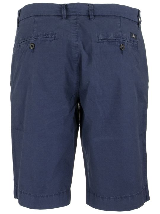 Fay Men's Short Pants With Welt Pockets