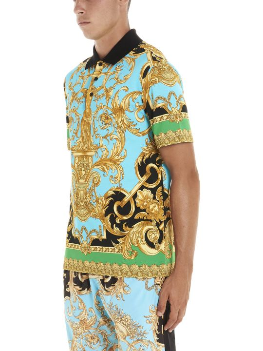 Versace 'home Barocco' Polo