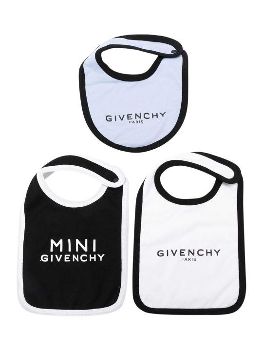 Givenchy Kids Printed Bibs Set