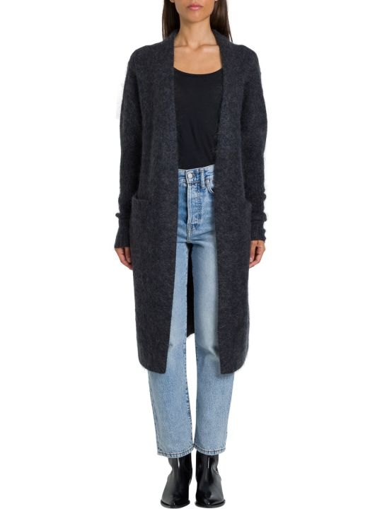 Acne Studios Raya Cardigan Lungo 36%nylon 30%wool 26%mohair 4%elastane