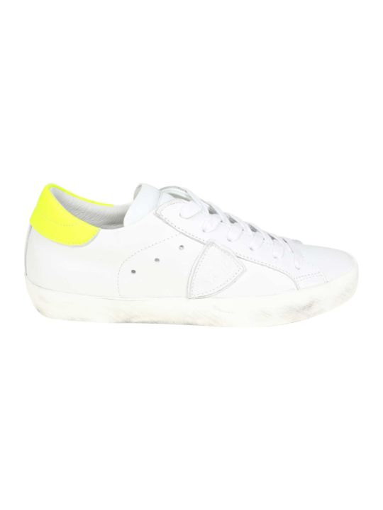 Philippe Model Sneakers Paris In White Leather
