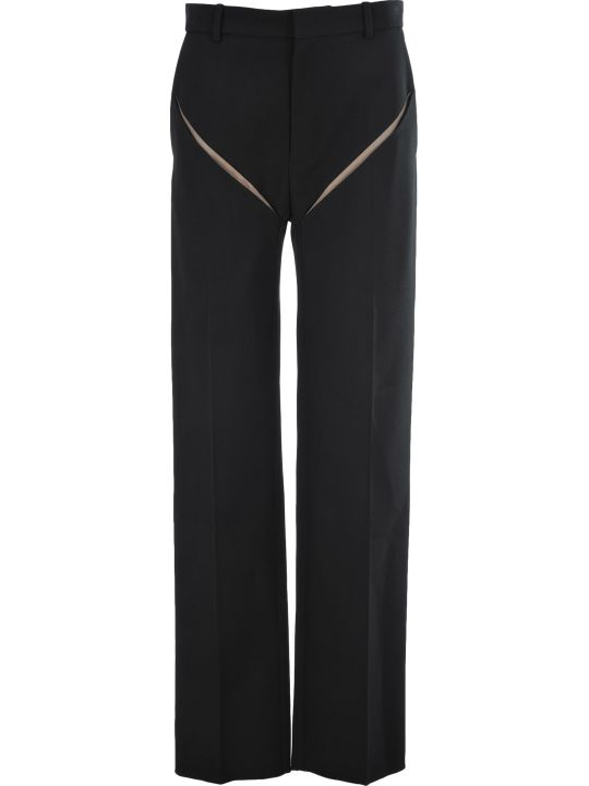 Y/Project Cut Out Details Trousers
