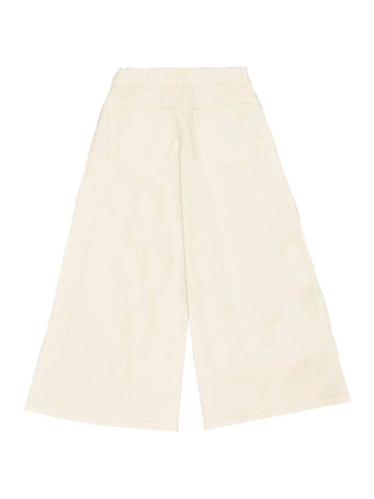 Fendi White Denim Trousers
