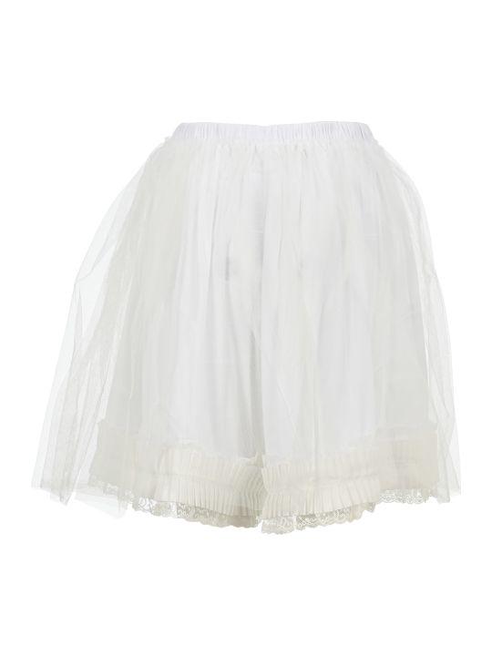 MM6 Maison Margiela Mm6 Tulle Overlay Shorts