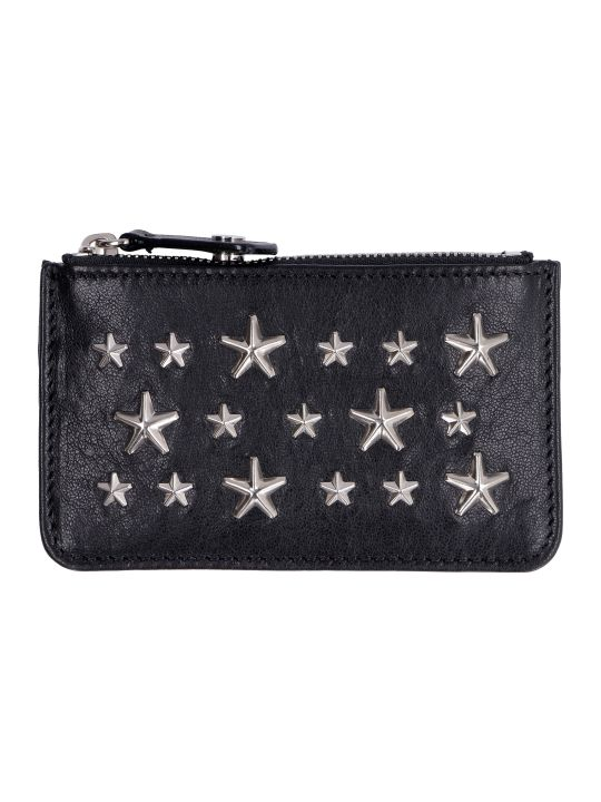 Jimmy Choo Nancy Leather Card Holder