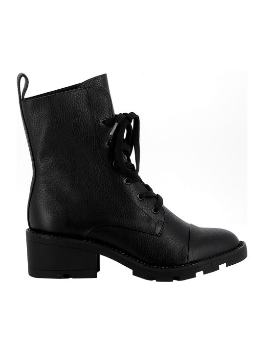 Kendall + Kylie Kendall+kylie Black Leather Ankle Boots