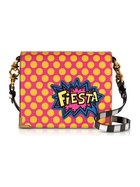 Alessandro Enriquez Hera Pop Fiesta Leather Shoulder Bag
