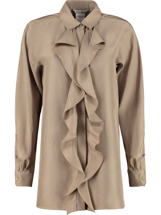 Max Mara Tefrite Silk Shirt