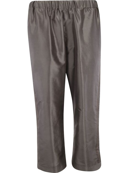 Ibrigu Classic Ribbed Waist Trousers