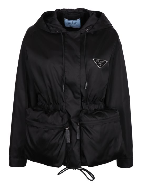 Prada Hooded Windbreaker