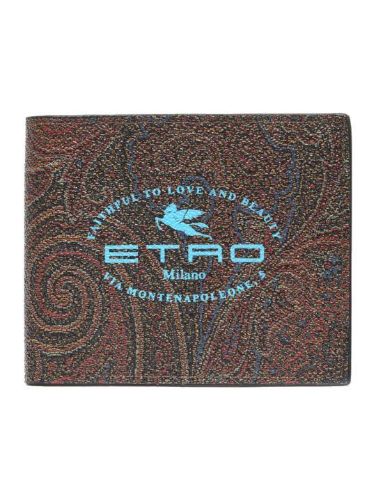 Etro 'paisley' Wallet