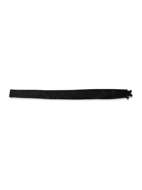 Ann Demeulemeester Black Smoking Scarf