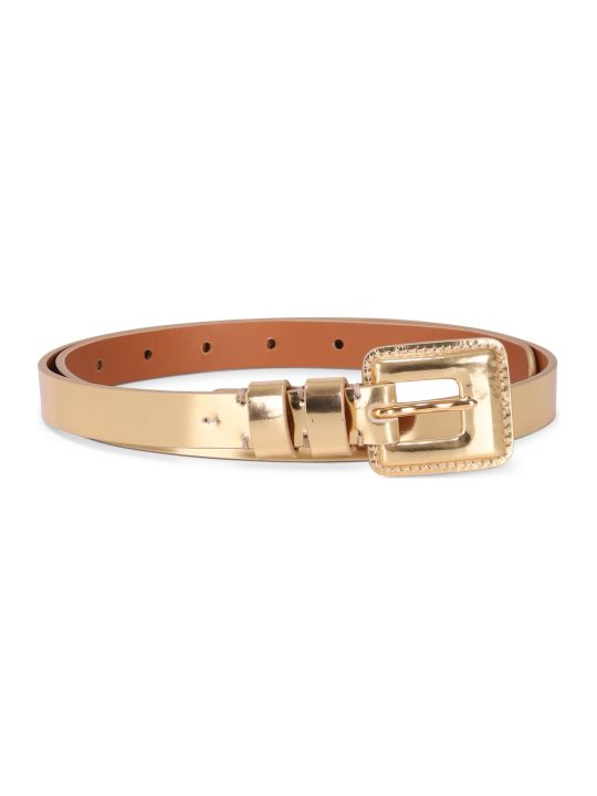 Ralph Lauren Gold Belt