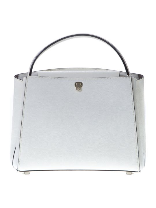 Valextra Pergamena Brera Tote Bag In Leather