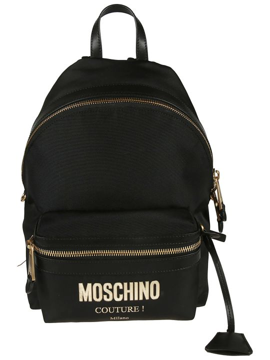 Moschino Logo Backpack