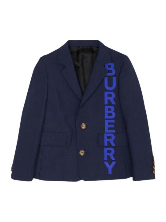 Burberry Kids Print Logo Jacket