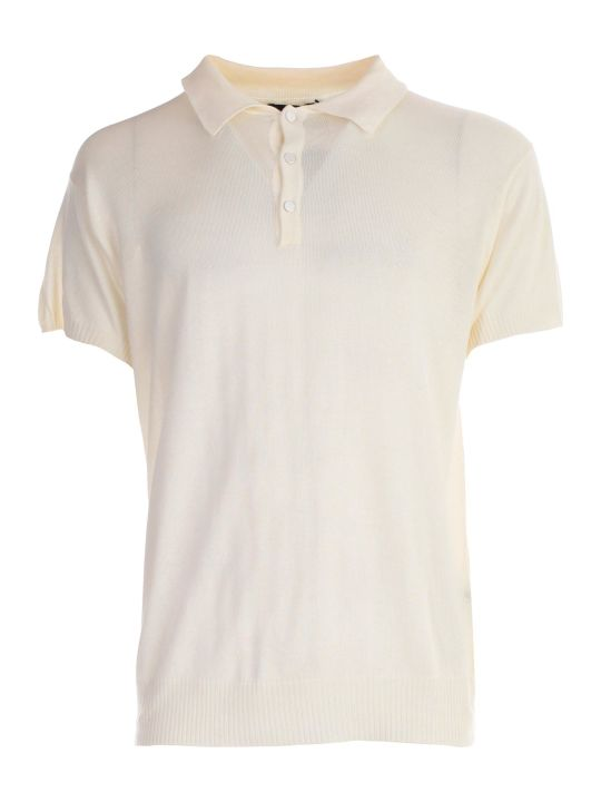 Maison Flaneur Knitted Polo Shirt