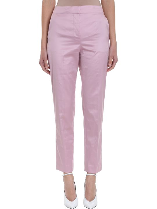 Theory Cotton Chintz Clean Tapered Pant
