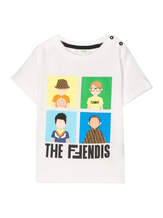 Fendi Kids T-shirt The Ffendis
