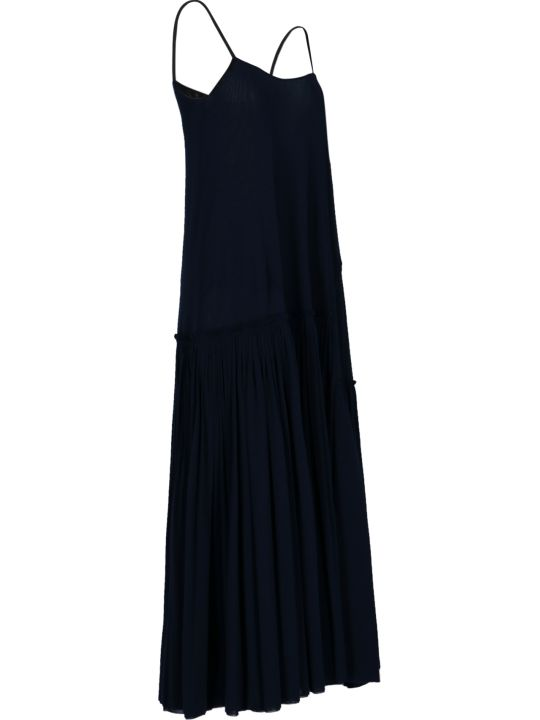 Jil Sander Draped Long Dress