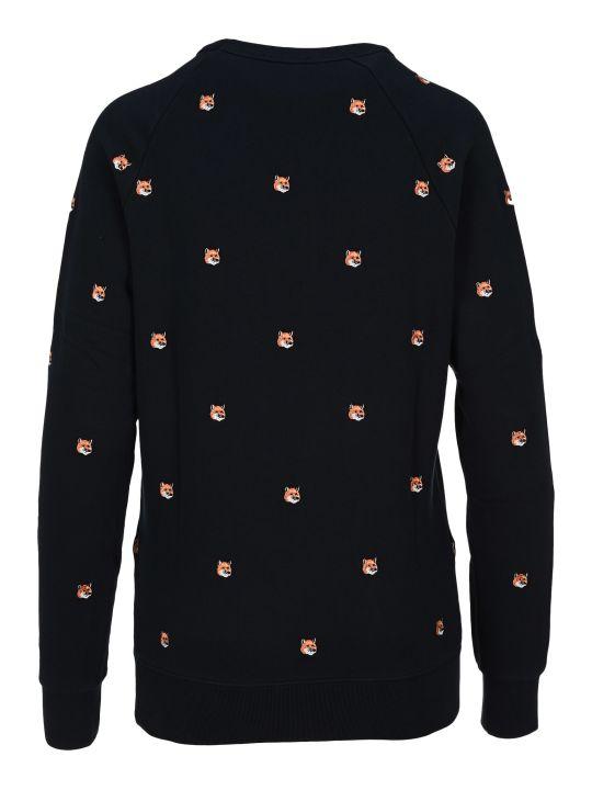 Maison Kitsuné Maison Kitsune Emboidered Fox Sweatshirt