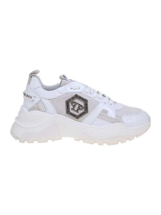 Philipp Plein Sneakers Runner White Color