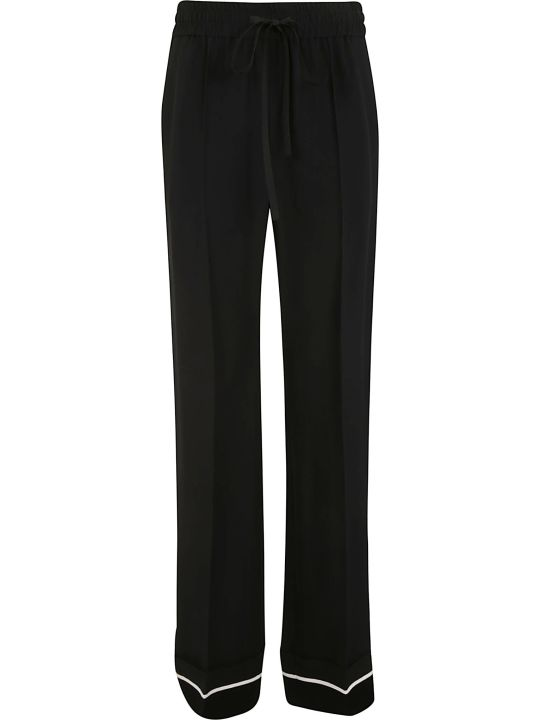 RED Valentino Straight Long Leg Trousers