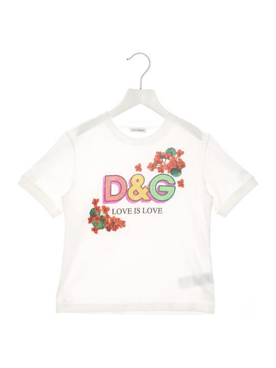 Dolce & Gabbana 'dg Love' T-shirt