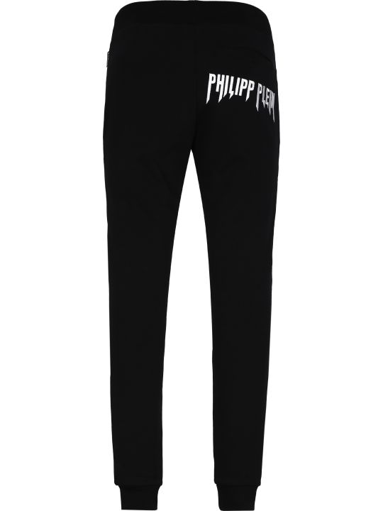 Philipp Plein Stretch Cotton Track-pants