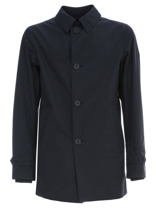 Herno Nylon Waterproof Coat W/hat