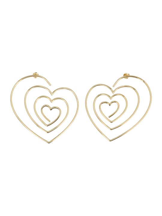 Y/Project 'heart Hoop' Earrings