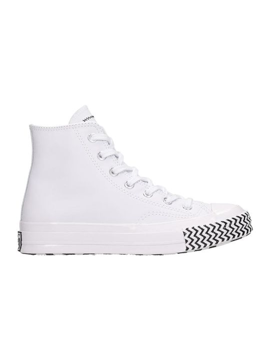 Converse Chuck 70 Sneakers In White Tech/synthetic